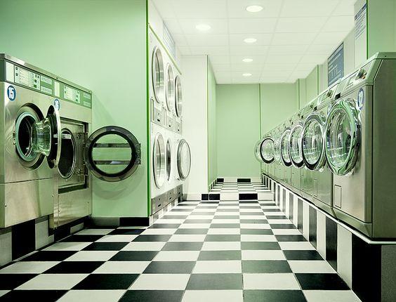 Laundromat photo for laundry room