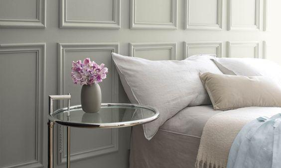 Metropolitan Gray bedroom
