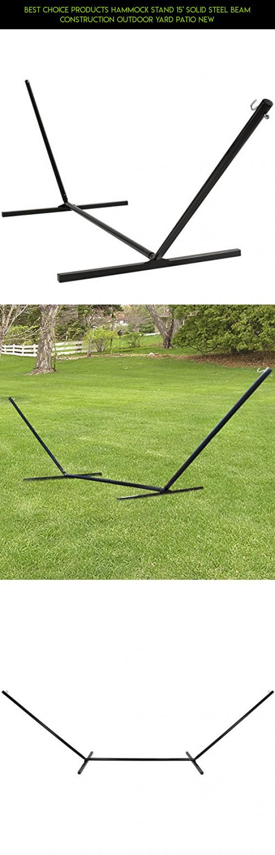Best choice products hammock stand u solid steel beam construction