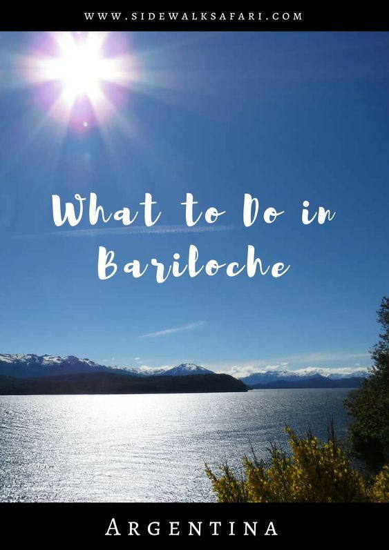 What To Do In Bariloche Argentina Including Self Drive Day Trips