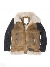 Kids' Jimoy Sheepskin Jacket by Diesel | Kids fashion | Pinterest