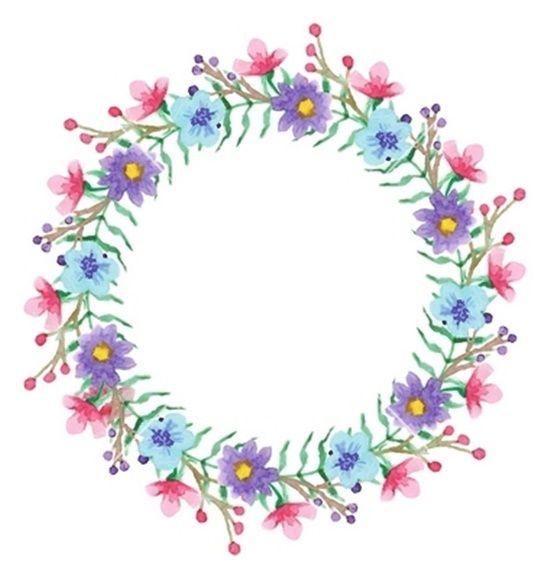 Psiu Noiva - Mais de 30 Frames Florais Para Download Grátis 26