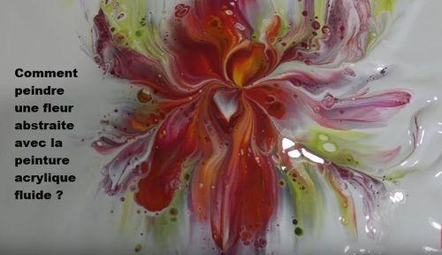 Dessin Et Peinture Video 2825 Comment Realiser Des Fleurs