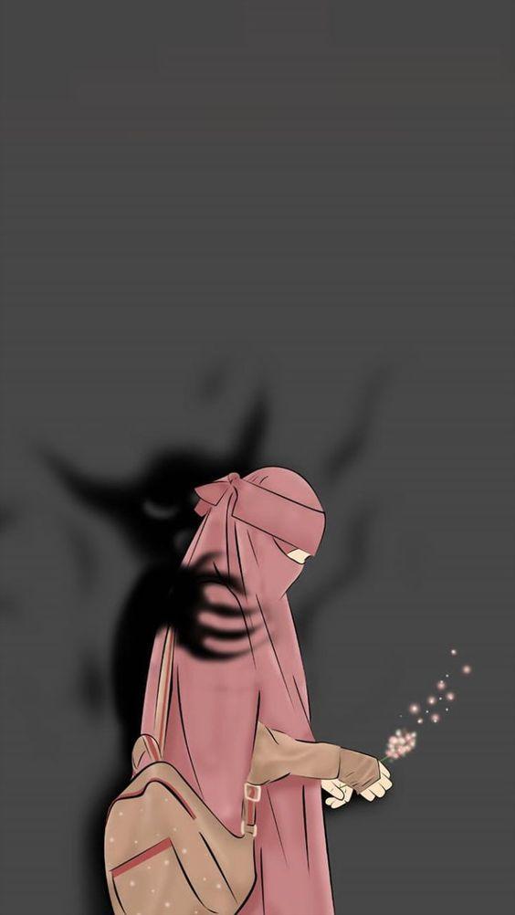 Gambar Karakter Muslimah Dewasa 2
