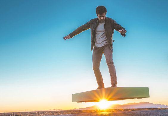 ARCABOARD : l'hoverboard de toutes les surfaces