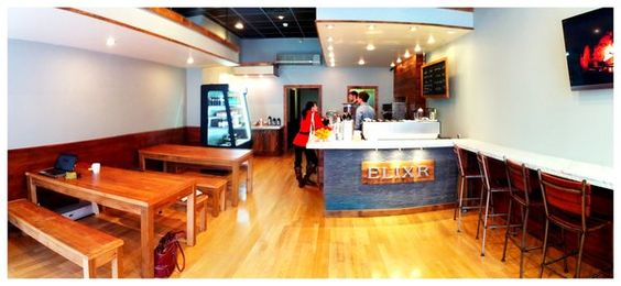 I know it's Philly, but I still want my coffee served to me by disgruntled hipsters. ELIXR