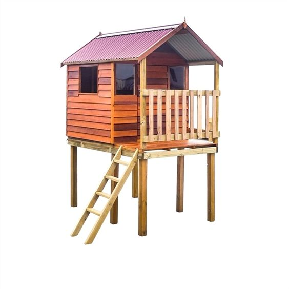 Kids cubby house 1 815 bunnings new home pinterest for Design a shed cubbies