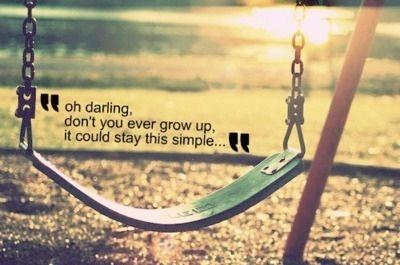 never grow up ♥