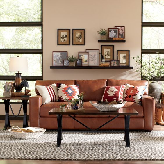 Sofa da tphcm retro cuốn hút