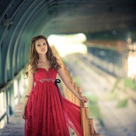 Red dress - TaipeiRoyalWed.tw 台北蘿亞結婚精品