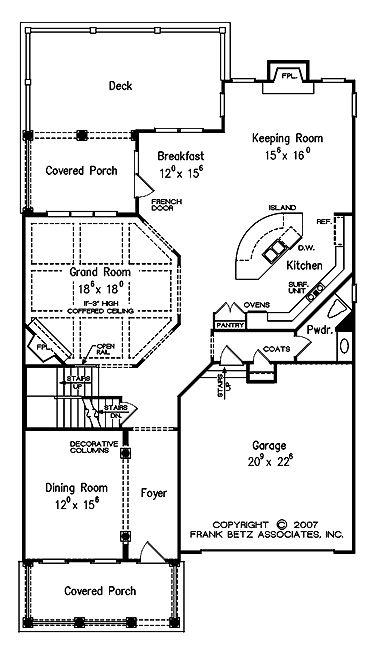 Four Bedroom Cape Cod Hwbdo63626 Colonial Cape Cod