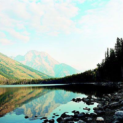 Jenny Lake, Grand Teton National Park, Wyoming: