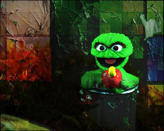 Title  Monster Madness Oscar    Artist  Terry Fleckney   Medium  Photograph - Photography/digital Art