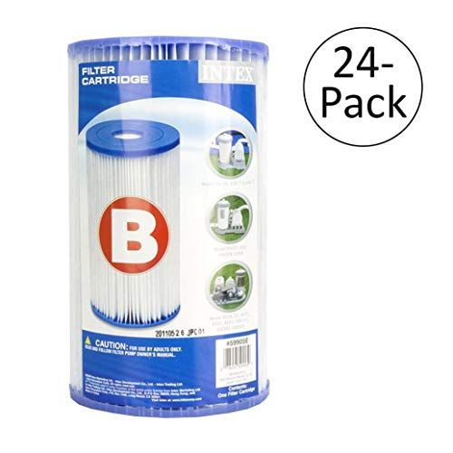 Intex Pool Easy Set Type B Replacement Filter Pump Cartridge 24
