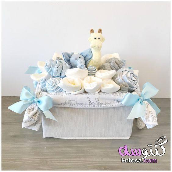 افكار هدايا مولود جديد افكار تقديم الهدايا لمولود جديد أفكار هدايا لأطفال مولودة حديثا Kntos Baby Shower Baskets Baby Boy Gift Baskets Baby Shower Gift Basket