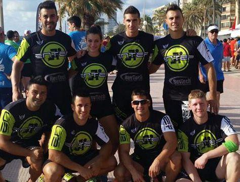 FasterWear.com sigue creciendo ampliando su gama de deportes presentando esta vez las nuevas prendas para CrossFit con nuestro equipo nacional Entep - RevTech