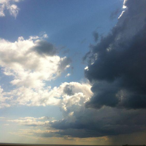 Stormy skies!