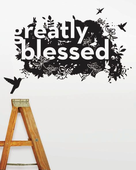 Birds Inspirational Wall Decal by 9fruit