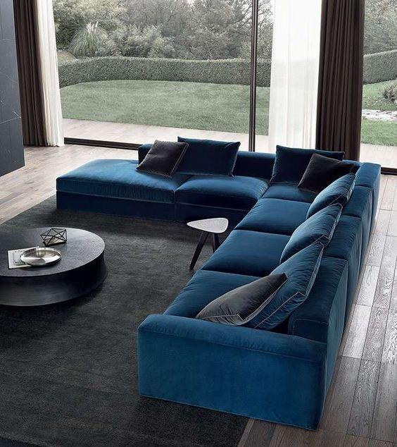 Poliform divani 2015 - Divano dal colore deciso