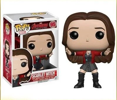 (Buy here: http://appdeal.ru/11uh ) Genuine original  The Avengers Scarlet  Witch 12cm model doll  ornaments for just US $29.90