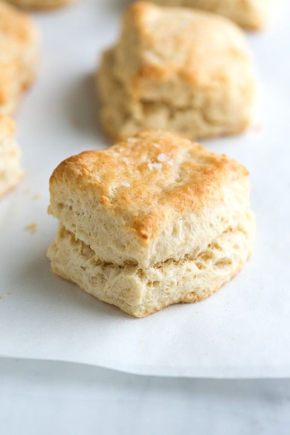 No Bowl Buttermilk Biscuit