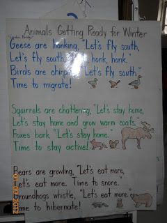 Mrs. Whaley's Kindergarten: Animals in Winter: