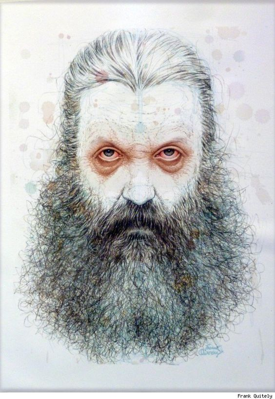 Alan Moore by Frank Quitely