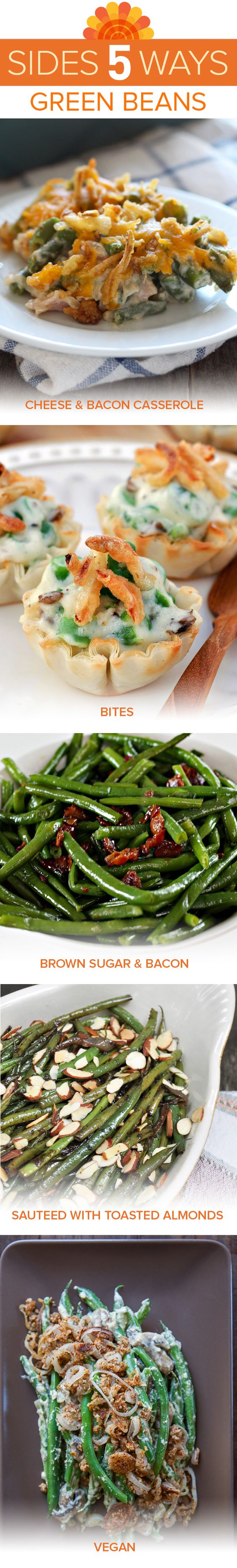 Easy green bean casserole, Green beans and Creamy mushroom sauce on ...
