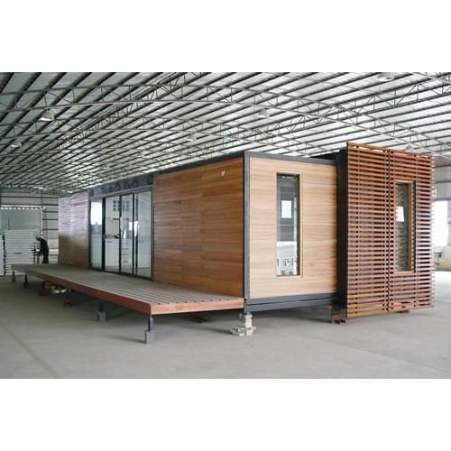 Container Home In Wood