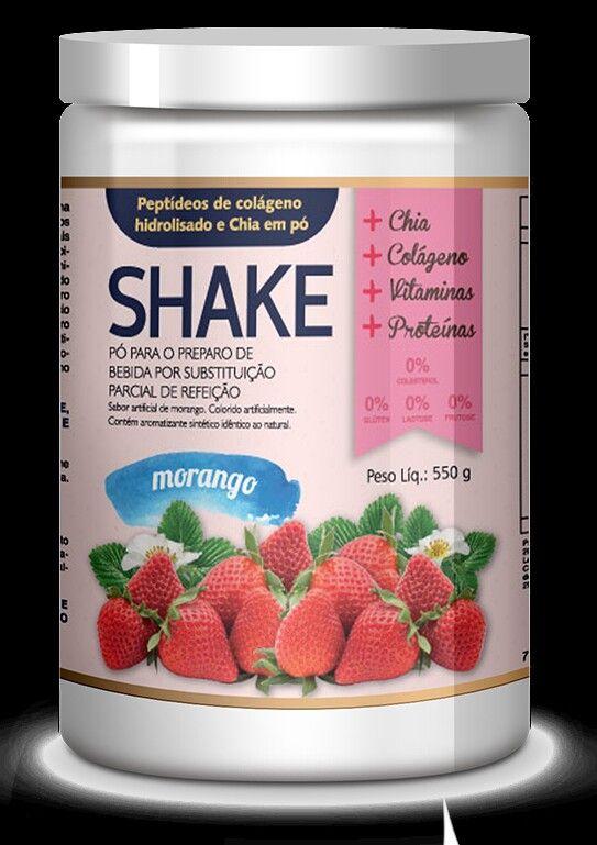 O Fit Power Shake E Um Suplemento Alimentar Ricos Em Proteinas