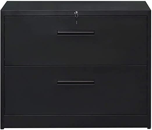 Tianxiangjiaju 2 Drawer File Cabinet With Lock Metal Storage Printer Stand Cabinet For Letter Sized And Leg Filing Cabinet Printer Stand 2 Drawer File Cabinet