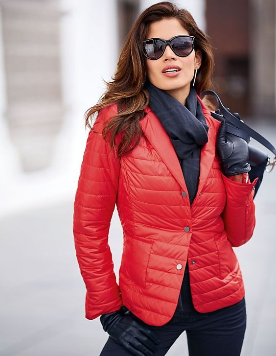 Damen Steppjacke im Blazerstil | MADELEINE Mode