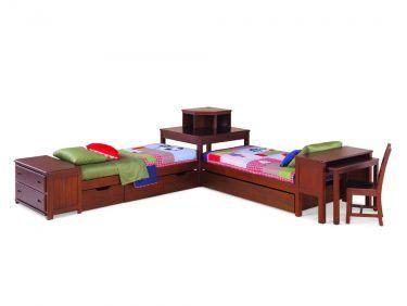 Platform Bed W Corner Unit Footboard Dresser Lea Dillon