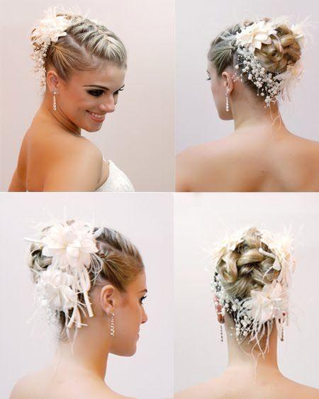Um dos penteados mais na moda nos últimos tempos são as tranças, pela beleza e romantismo que dão à noiva, mas também, por ser muito versáti...