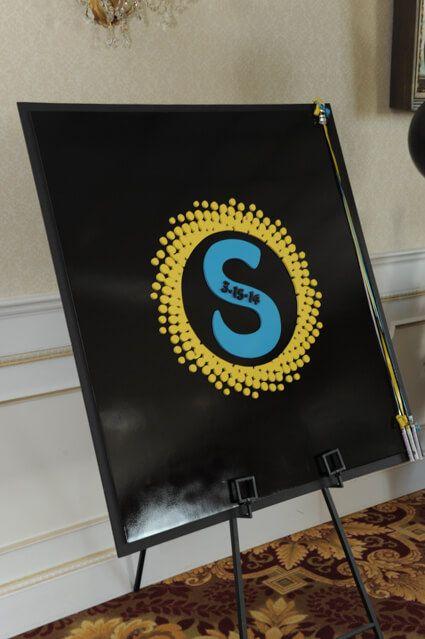 Custom Logo Sign in Board - BAT MITZVAHS
