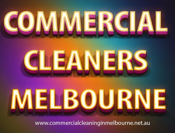Commercial cleaning jobs Melbourne