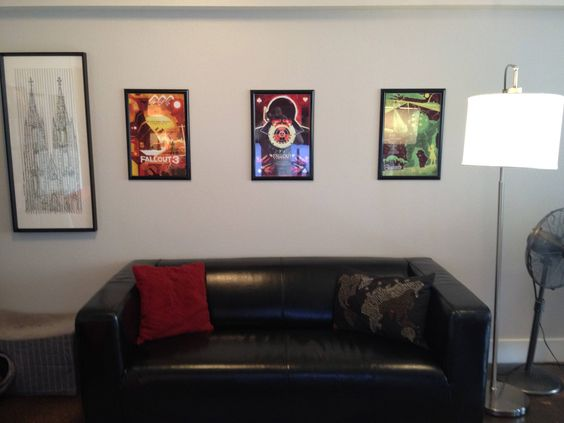 Fallout 3 framed posters :)