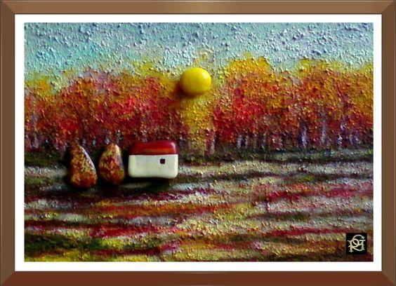 Faggeto -Painted Stones di Rosaria Gagliardi