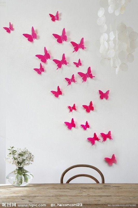 Una volta che avete considerato questi fattori imprescindibili potete pensare a come decorare le pareti della cameretta. Farfalle Adesive Per Decorare Le Pareti Della Cameretta Decorare Le Pareti Decorazioni Decorazioni Camerette