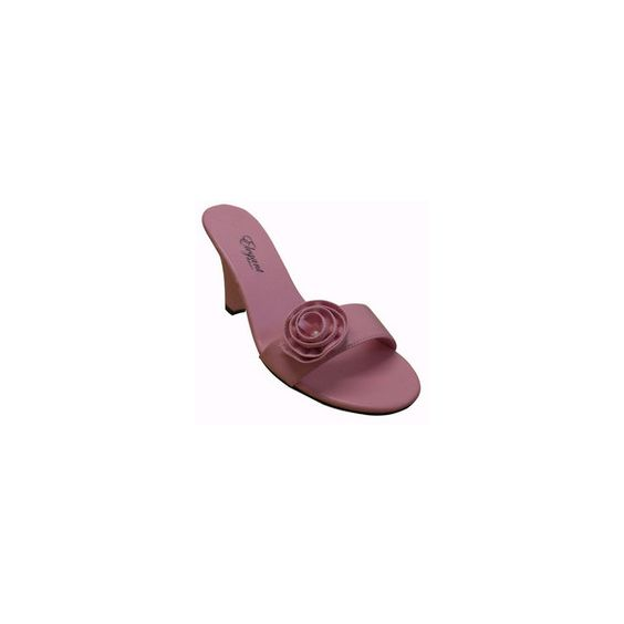 Women's Pink Rose Wedge - Fashion of LA via Polyvore