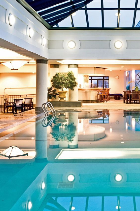 In addition to the health club and indoor outdoor - Hotels with saltwater swimming pools ...