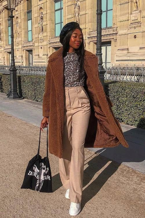 FW 2018/19 street style trends and outfits | Teddy Coat from Our Who What Wear Collection | Who What Wear UK