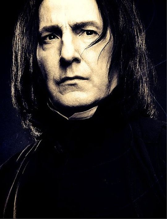 Severus Snape. A hero and the bravest man I ever knew. Always.: