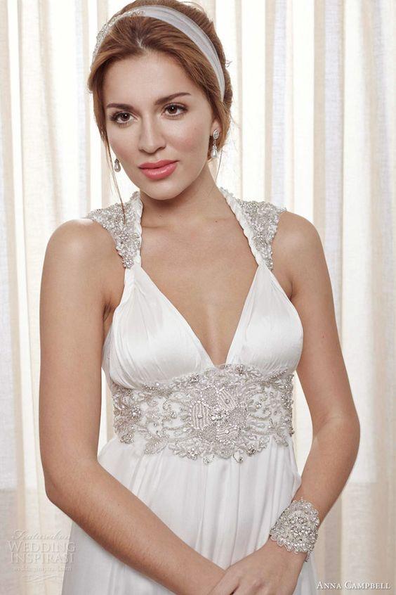 Anna Campbell Wedding Dresses — Belle Ivoire Bridal Collection   Wedding Inspirasi