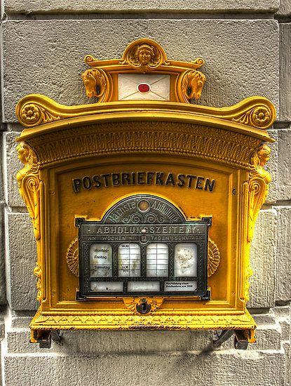 Deutschland briefk sten and gelb on pinterest - Yellow mobel katalog ...