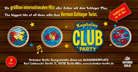kaptainsclubparty