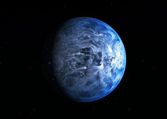 Hubble Confirms Exoplanet Has a Blue Atmosphere