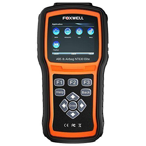 Vehicle Code Reader >> Foxwell Nt630 Elite Obd2 Scanner Abs Srs Code Reader