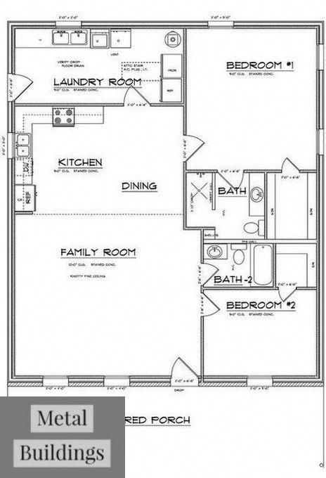 Price Your Building Online Metal Building Prices In 3 Steps And Shouse Ideas Houses Barndominium Floor Plans Floor Plan Layout Bathroom Floor Plans