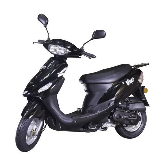 Scooter 50cc Taotao Euro4 Siv Inclus Carte Grise Noir